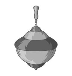 Whirligig icon black monochrome style vector