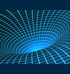Wormhole singularity and event horizon - warp vector