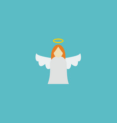 flat icon angel element of vector image