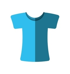 sport shirt isolated icon vector image vector image