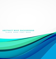 abstract blue background design vector image