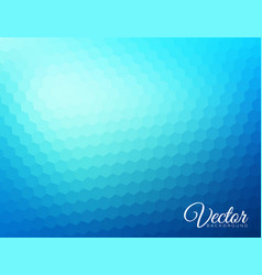 abstract blurred hexagonal background vector image