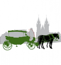 Carriage 2 vector