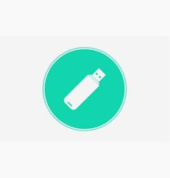 flash drive icon sign symbol vector image