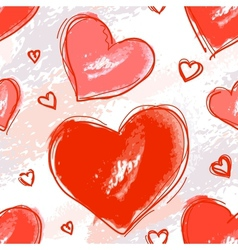 Pattern love vector image
