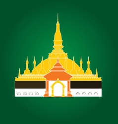 That Luang Laos vector