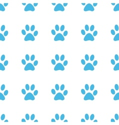 Unique Paw seamless pattern vector
