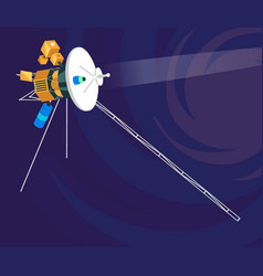 voyager vector image