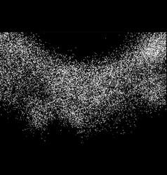 White grainy texture vector