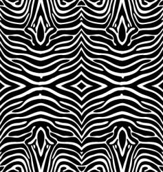 Zebra skin wallpaper vector