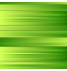 Abstract corporate green stripes background vector image vector image
