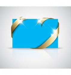 Christmas or wedding card vector image vector image