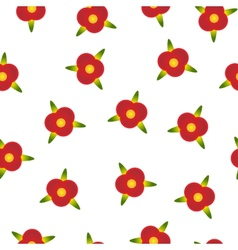 Background with small flowers vector image