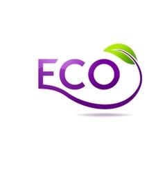 Green leaf logo design template garden vector