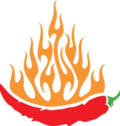 Hot Chili Icon vector image