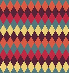 Circus seamless background Contrast dark rhombus vector image