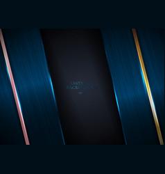 Abstract elegant blue metallic texture vector