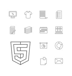 Blank icons vector