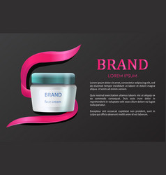 brand product advertising vector image
