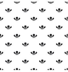hygiene lipstick pattern seamless vector image