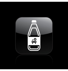 car liquid icon vector image vector image