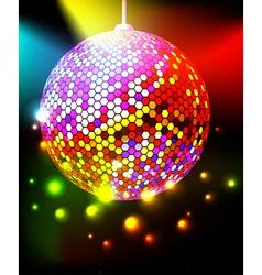 celebratory background vector image vector image