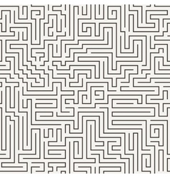 seamless pattern in the form of a labyrinth vector image vector image