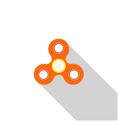 toy spinner to relieve stress vector image