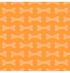 Halloween seamless pattern background with bones vector image