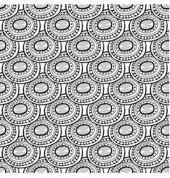 abstract black and white for coloring vector image