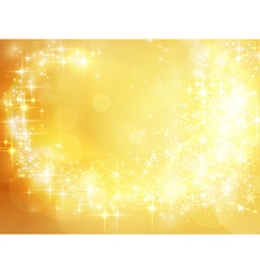 Abstract golden holiday christmas vector