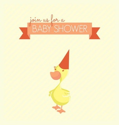 baby shower patka3 vector image