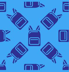 black backpack vector image