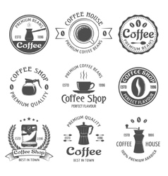 Coffee Emblem Set vector