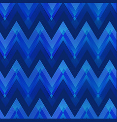 Dark blue color zigzag seamless pattern vector