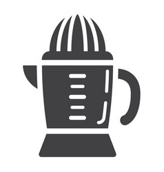 Han juicer solid icon household and appliance vector