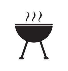 isolated grill icon vector image