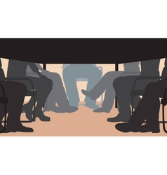 Office meeting vector image vector image