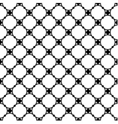 seamless pattern circles and nodes thin mesh vector image