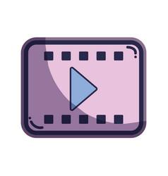 Short film cinematography production studio vector