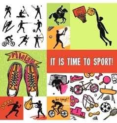 Sport Design Concept vector