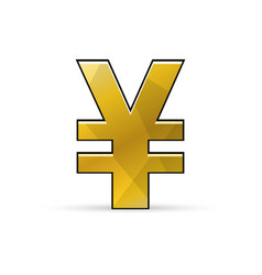 Yen or yuan sign urrency icon vector