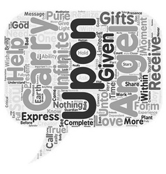 What Angels Do text background wordcloud concept vector image vector image