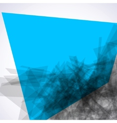 Abstract explore square mosaic EPS 8 vector image