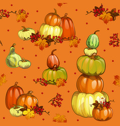 funny seamless background with texture ripe vector image