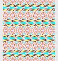 seamless texture ethnic tribal pattern vector image