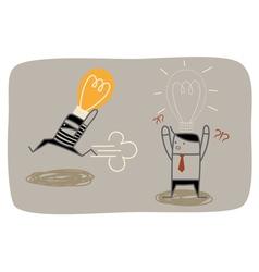 Idea Thief vector image