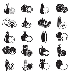 Vegetables Simple vector image vector image
