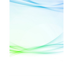 bright business abstract folder layout background vector image