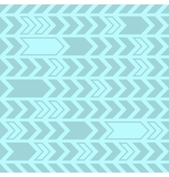 Decorative seamless pattern abstract arrows design vector image